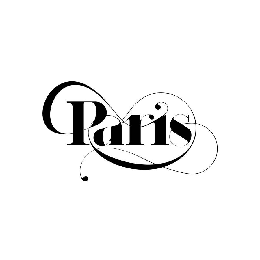Paris Typeface - Iconic typeface for fashion magazines by Moshik Nadav Typography