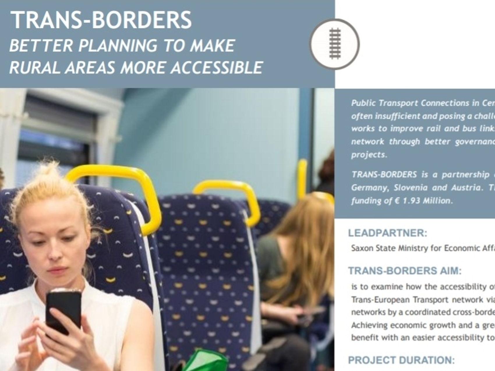 TRANS-BORDERS, ein Projekt über 5 Ländergrenzen hinweg