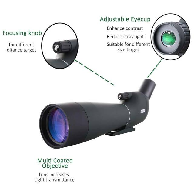 spotting telescope 30-90x90