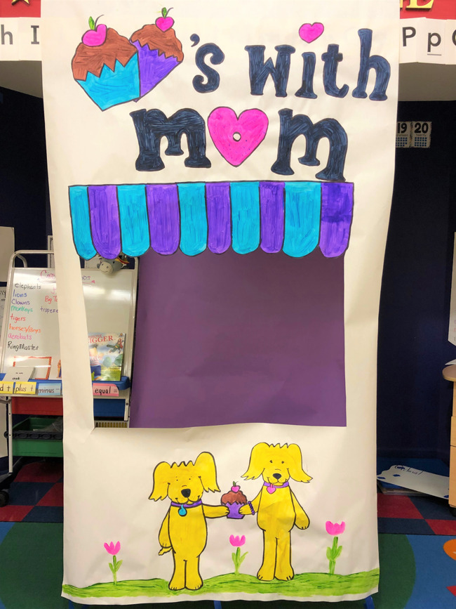 Primrose School of West Pearland; Mother's Day; Muffins with mom; May 2019