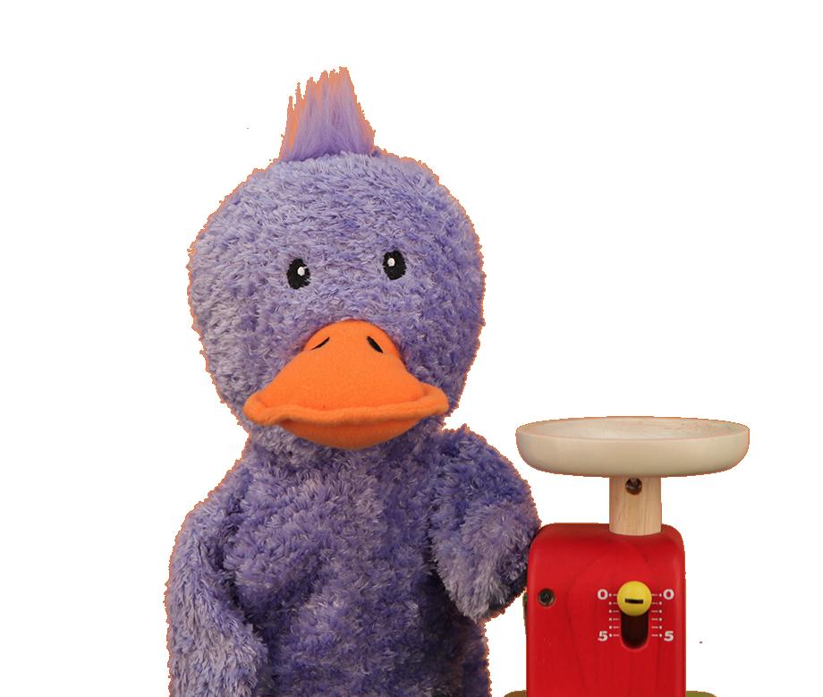 Primrose Toddler initial puppet