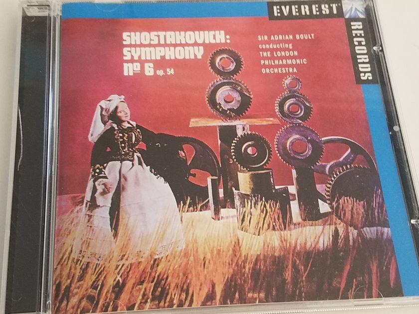 Everest Sir Adrian Boult - Shostakovich Symphony No. 6