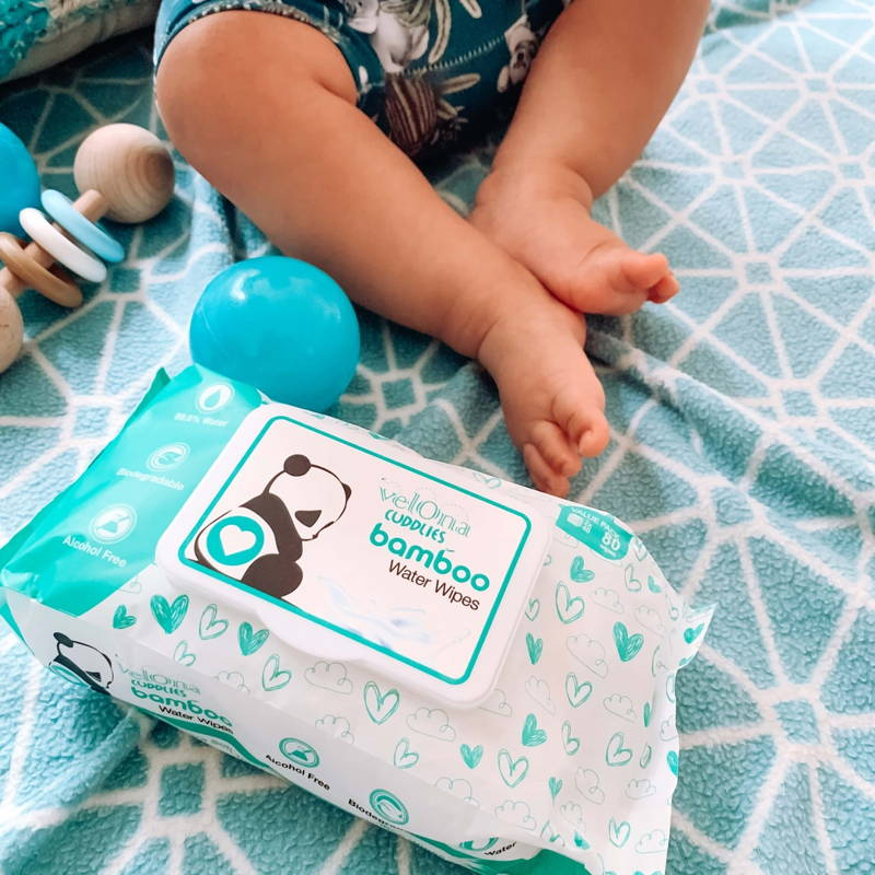 The best eco friendly baby water wipes in Australia that are 100% biodegradable. Shop now for your eco wipes today at Cuddlies