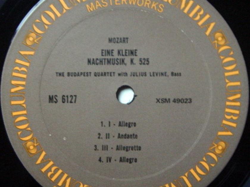 Columbia / BUDAPEST QT-OPPENHEIM, - Mozart Clarinet Quintets, MINT!