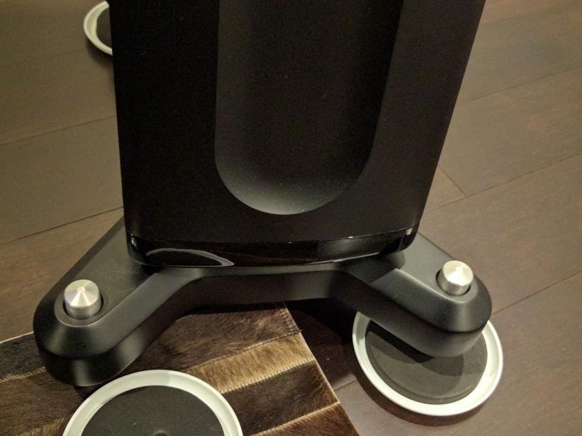Raidho D3 Ver. 2 Piano black with black trim - Mint!