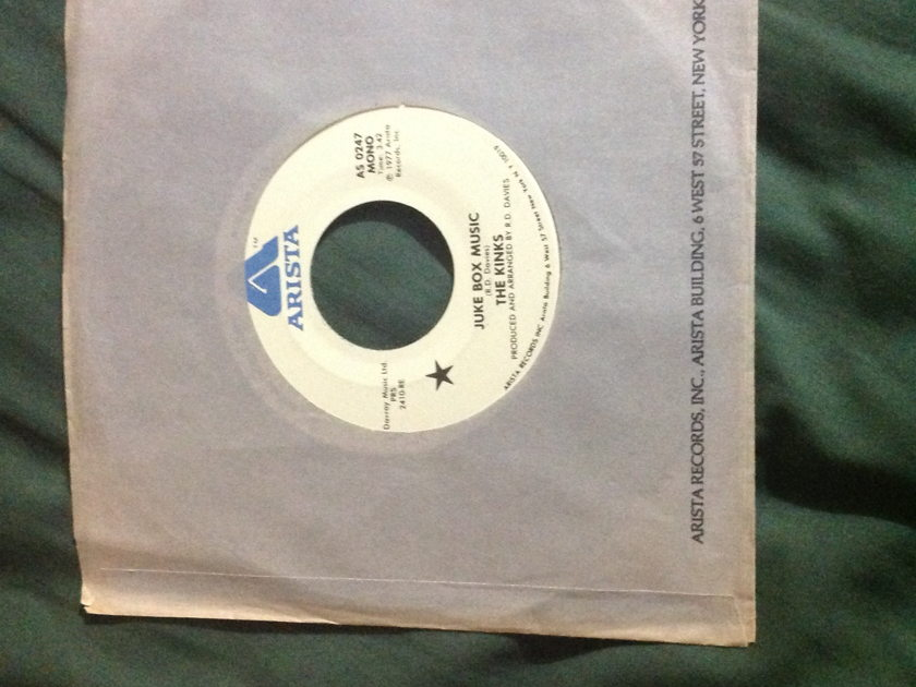 The Kinks - Juke Box Music Promo Mono /Stereo 45 NM
