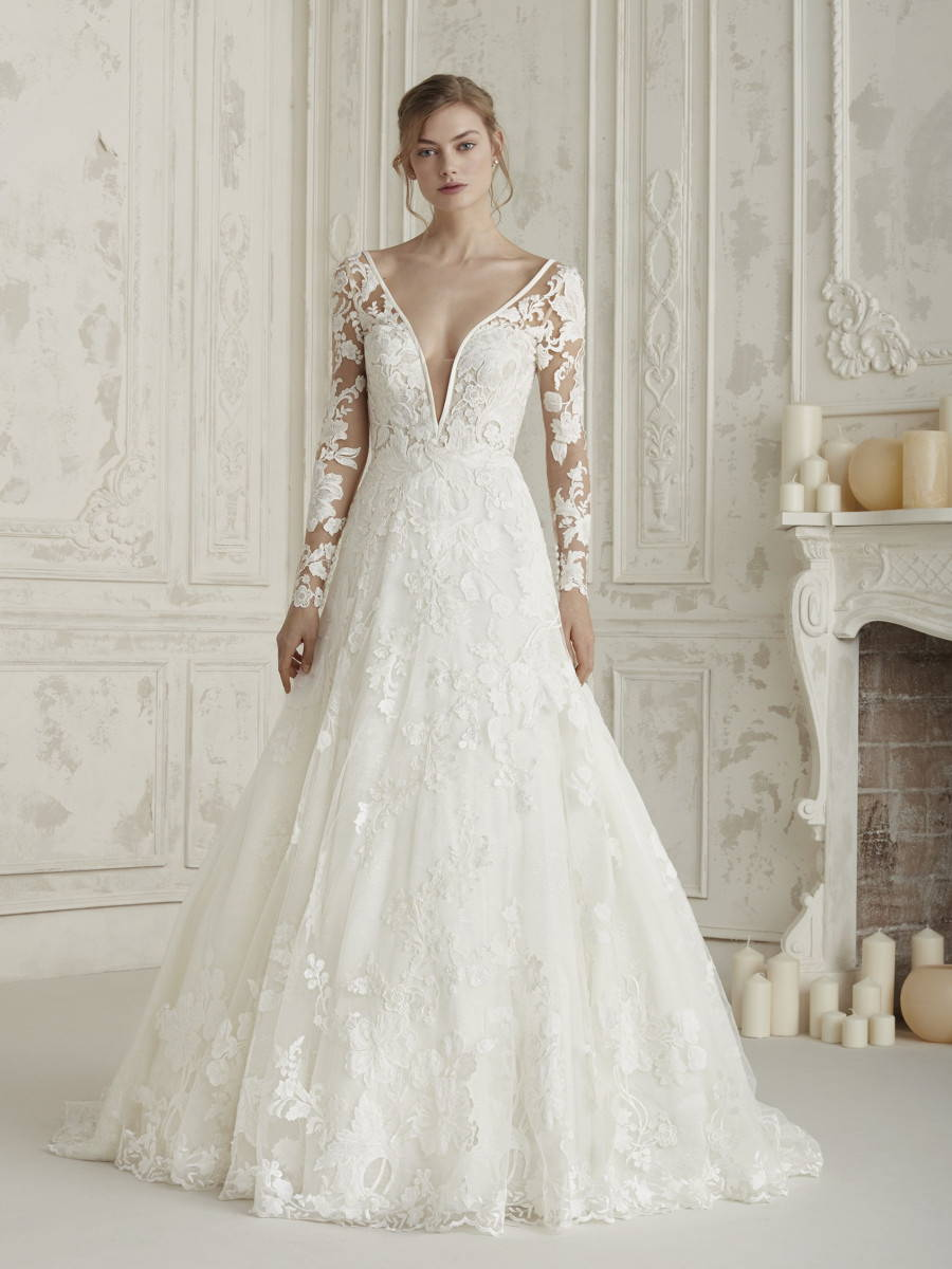 PRONOVIAS ELECTRA WEDDING DRESS