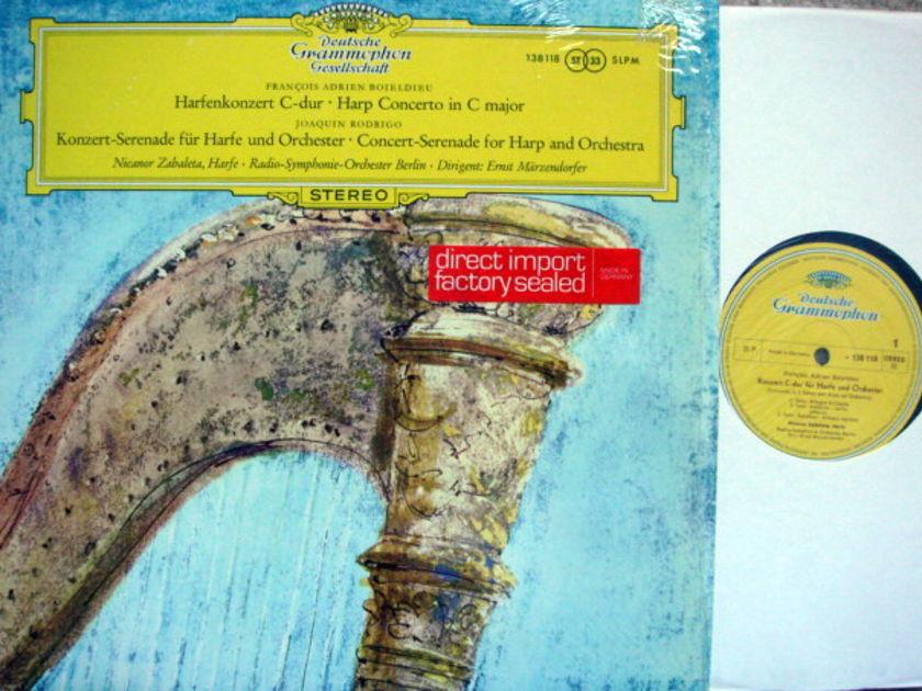 DGG / ZABALETA, - Rodrigo Concert-Serenade for Harp &, Orchestra,  MINT!