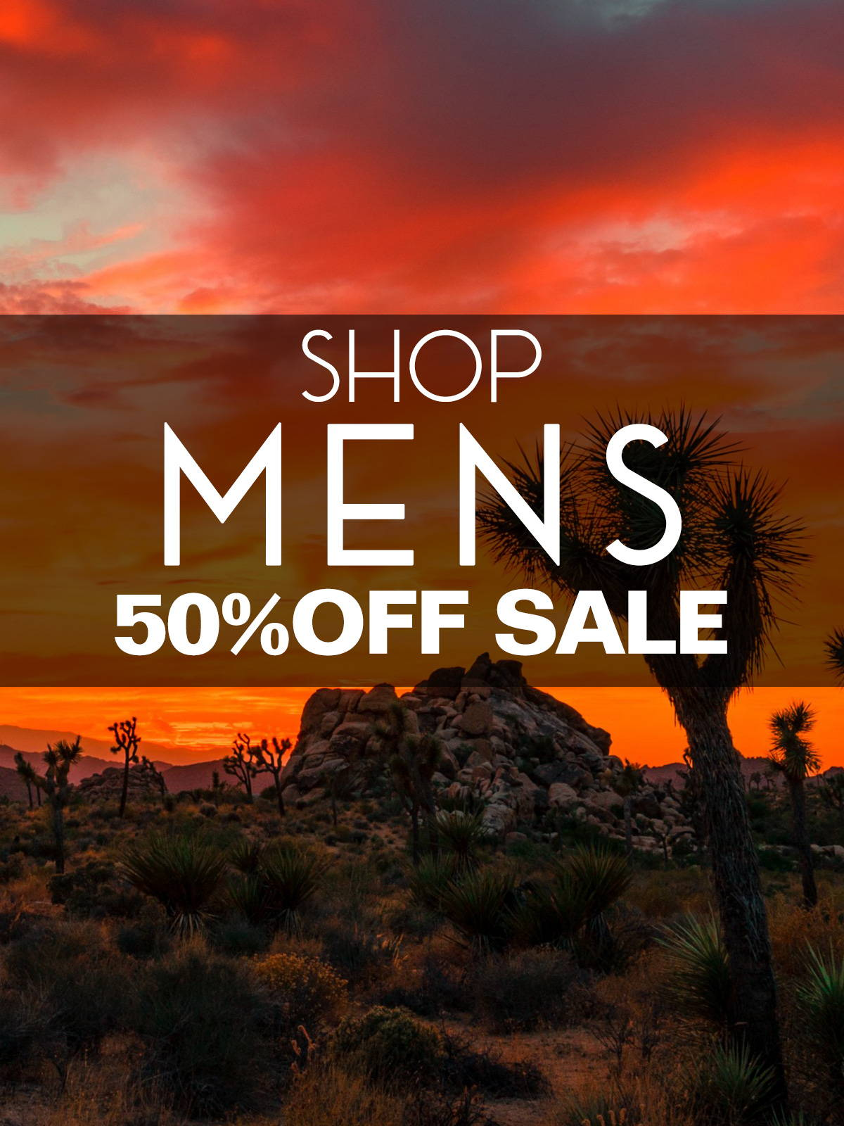 Shop the Mens 50% Off Holiday Sale