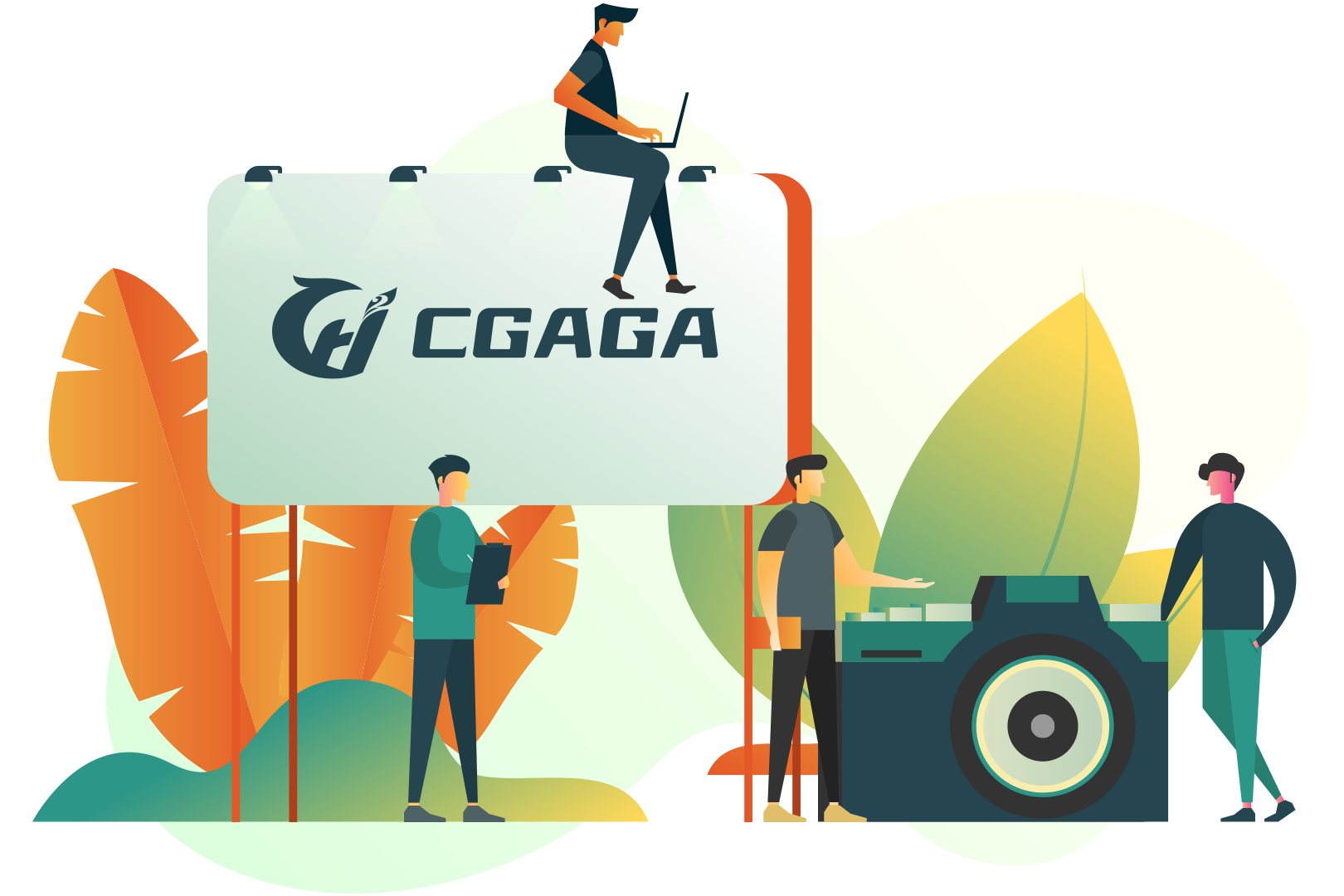 get to know Cgaga Software