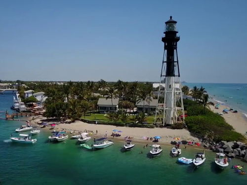 skyview of Lighthouse Point