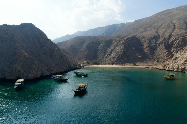 Поездка на Мусандам - арабские фьорды