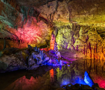 Пещера Прометея, заповедник Сатаплия (Батуми, Грузия)