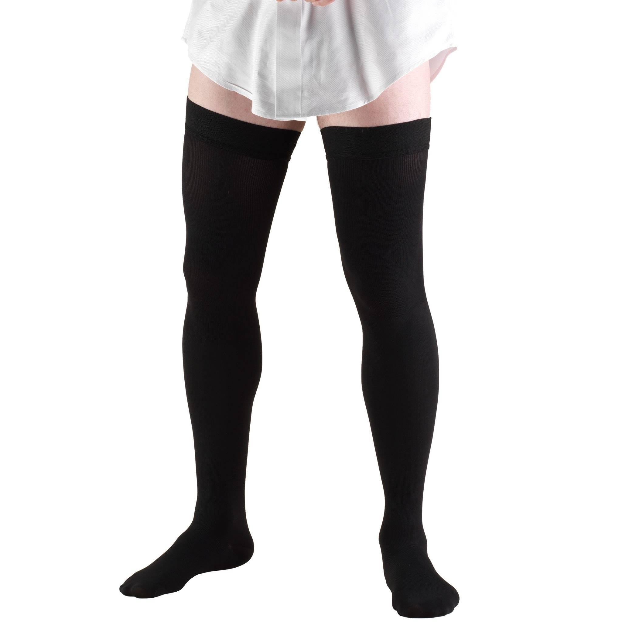Men's Thigh High Dress Socks