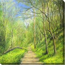 Scenic Landscape Canvas Art, Landscape Canvas Art, Outdoor Canvas Art