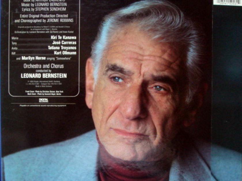 DG Digital / BERNSTEIN-TE KANAWA-CARRERAS, - Bernstein West Side Story, MINT, 2LP Box Set!
