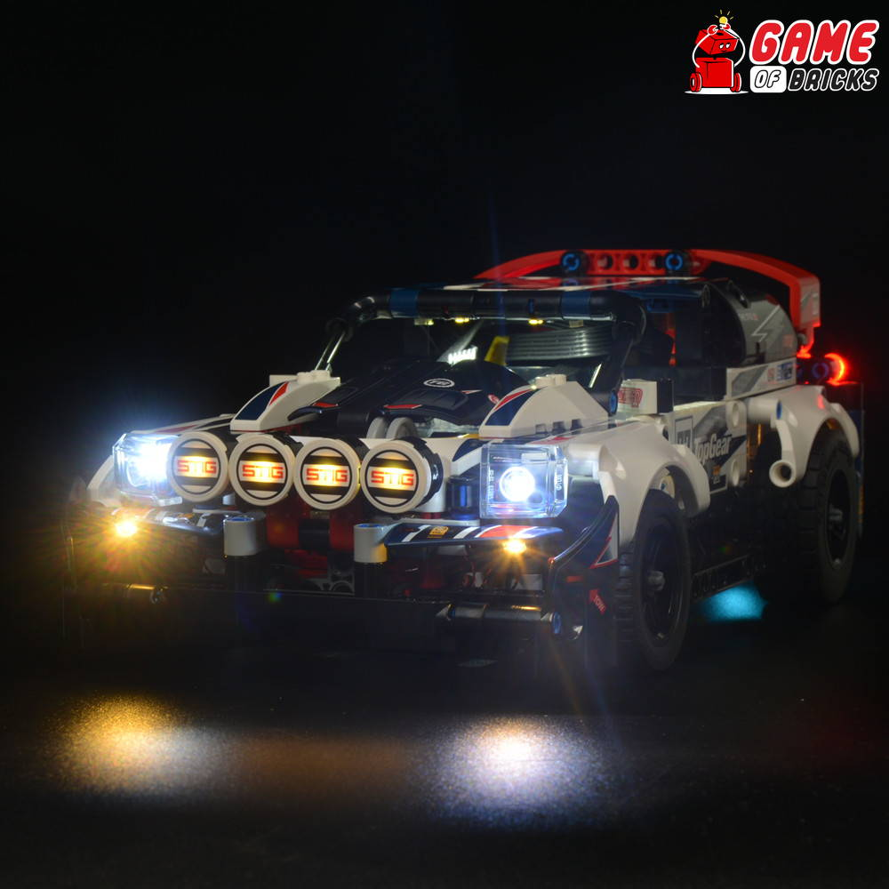 lego led light for rally 42109