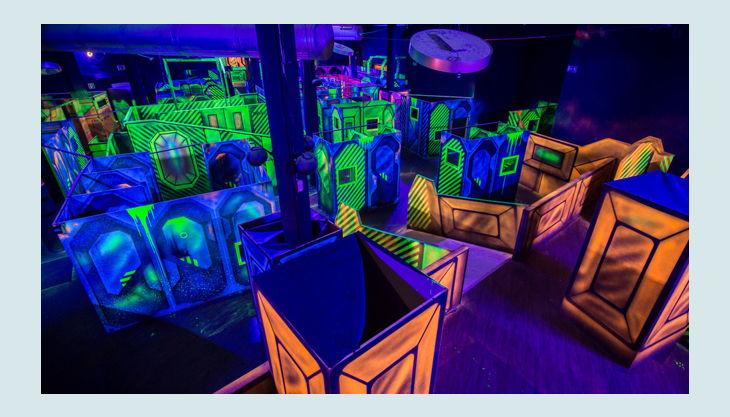 laserzone essen borbeck spielfeld übersicht