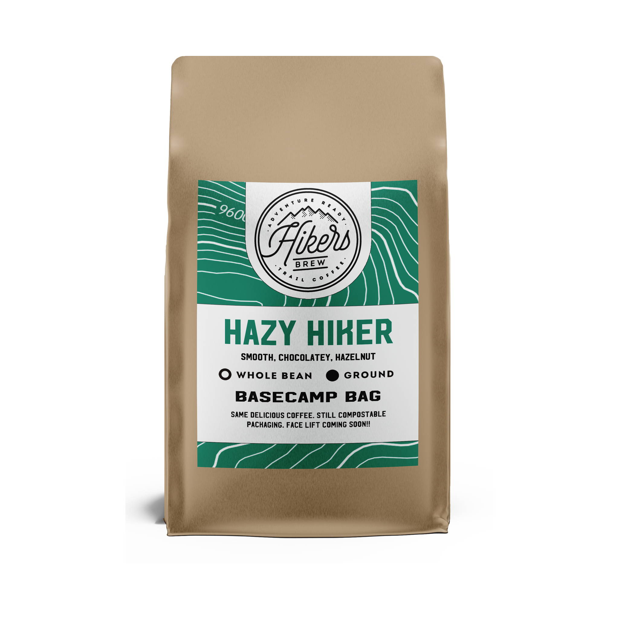 Hazy Hiker - Hazelnut Flavored Coffee - 12 oz.