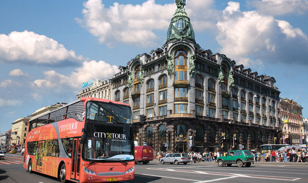 Обзорная экскурсия на двухэтажном автобусе