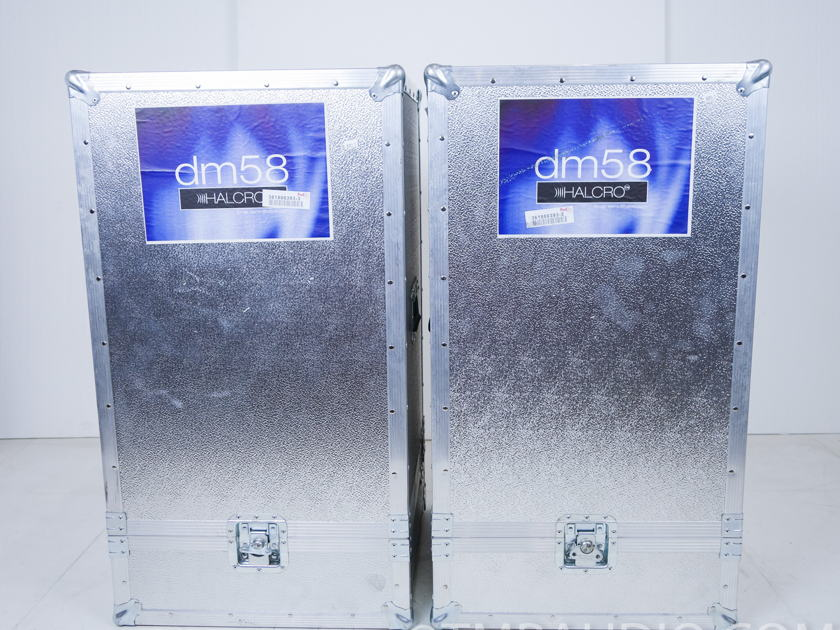 Halcro dm58 Monoblock Power Amplifiers; Pair (8393