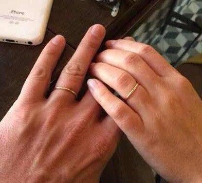 Constantin`s fiancée's engagement ring