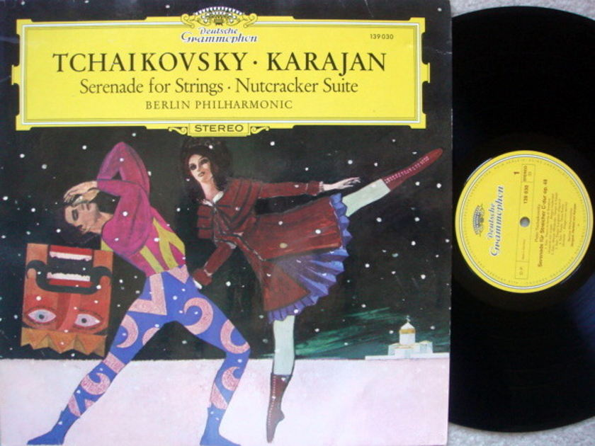 DG / KARAJAN-BPO, - Tchaikovsky Serenade for Strings, Nutcracker Suite,  MINT!