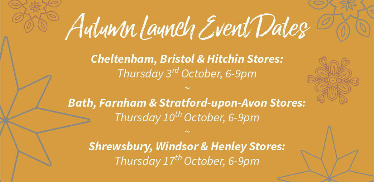 Autumn Launch Event Dates
