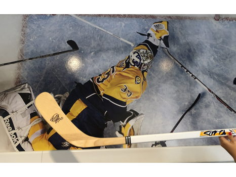 Own a Piece of Nashville Predators History