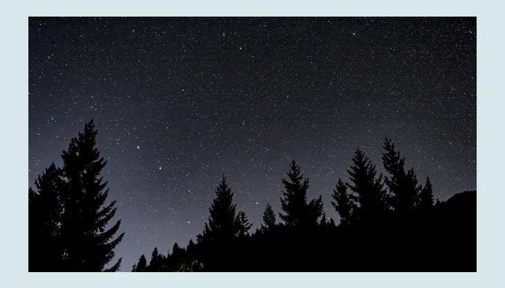 naturgut ophoven nacht sternenhimmel pxb