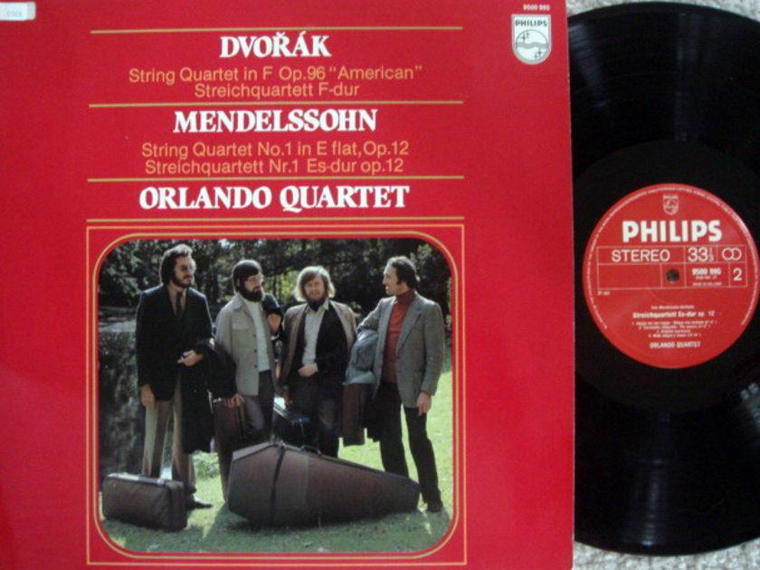 Philips / ORLANDO QT, - Dvorak-Mendelssohn String Quartets, MINT!