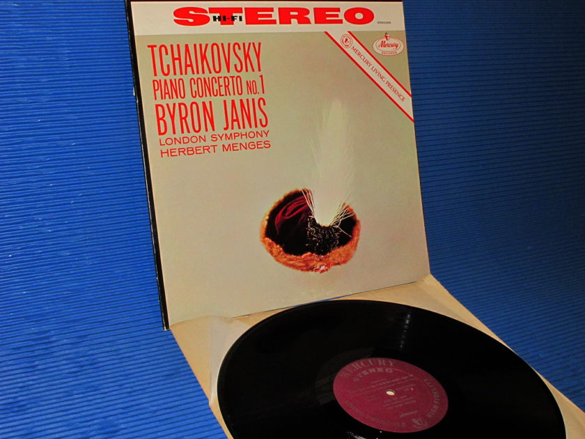 "TCHAIKOVSKY/Byron Janis -  - ""Piano Concerto no.1"" - Mercury Living Presence 1960's"