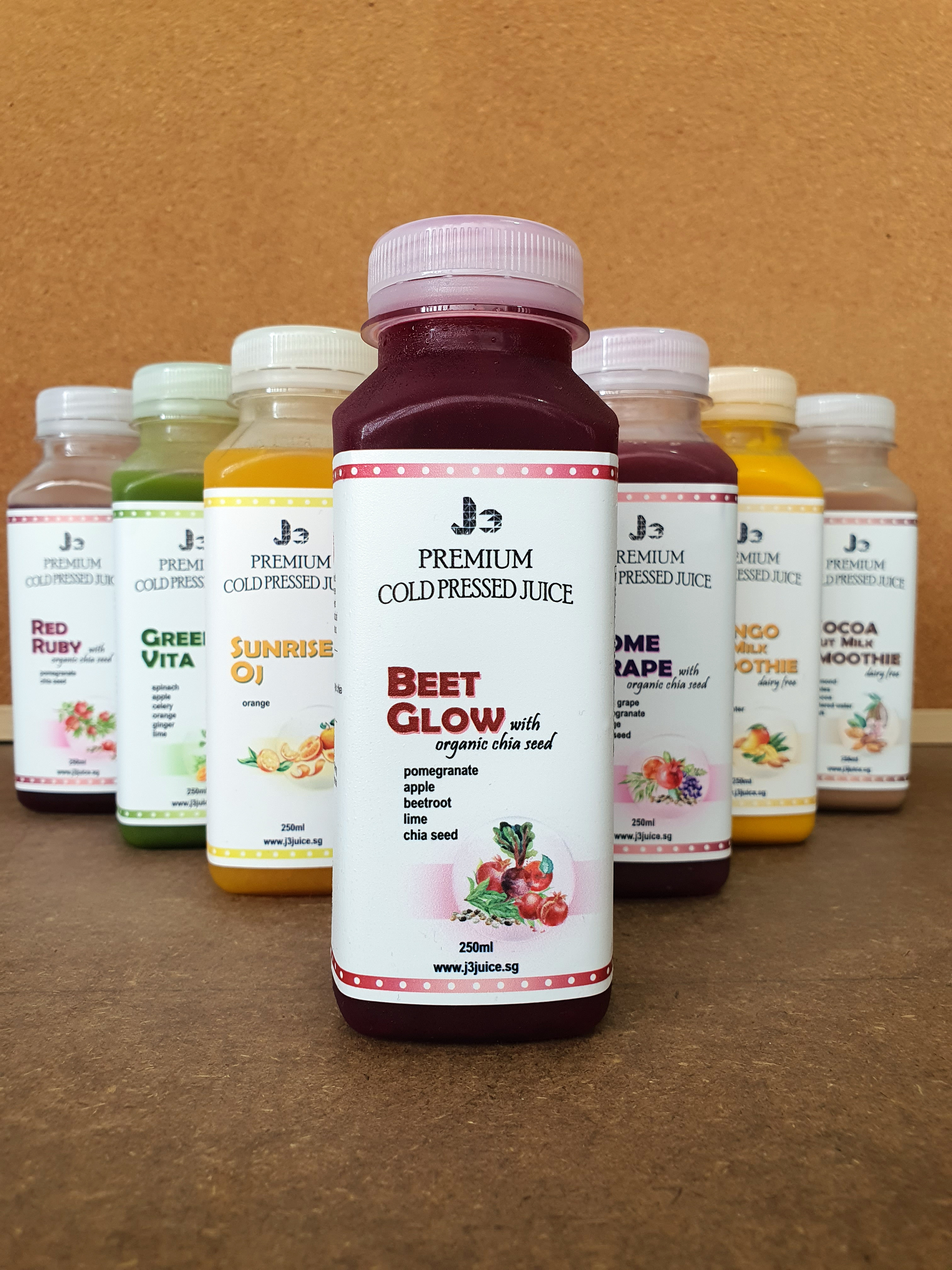 About J3 Cold Pressed Juice
