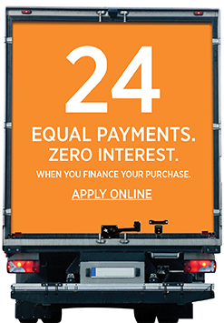 24 Equal Payments. Zero Interest.