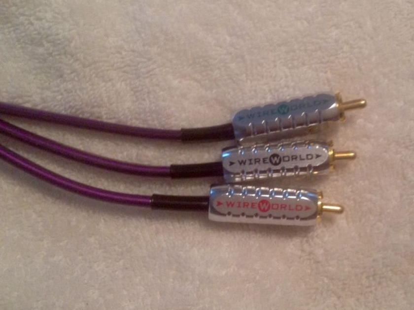 Wireworld ultraviolet component video 6 meters