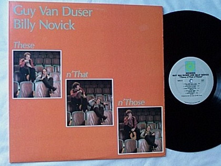 Guy Van Duser Lp- - These n'that n'those -superb rounder album