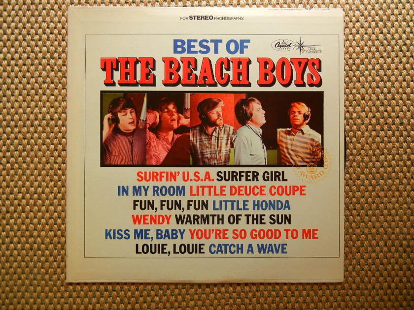 THE BEACH BOYS/ - BEST OF THE BEACH BOYS/ Capitol Records DT 2545