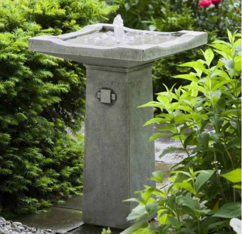 garden fountains, small garden fountains, bubbler fountains