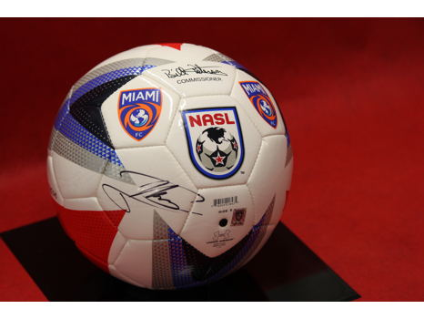 Alessandro Nesta Autographed Soccer Ball