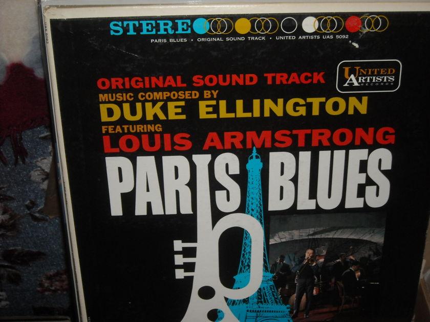 (lec) Original Soundtrack -  Paris Blues United Artist  LP (c)