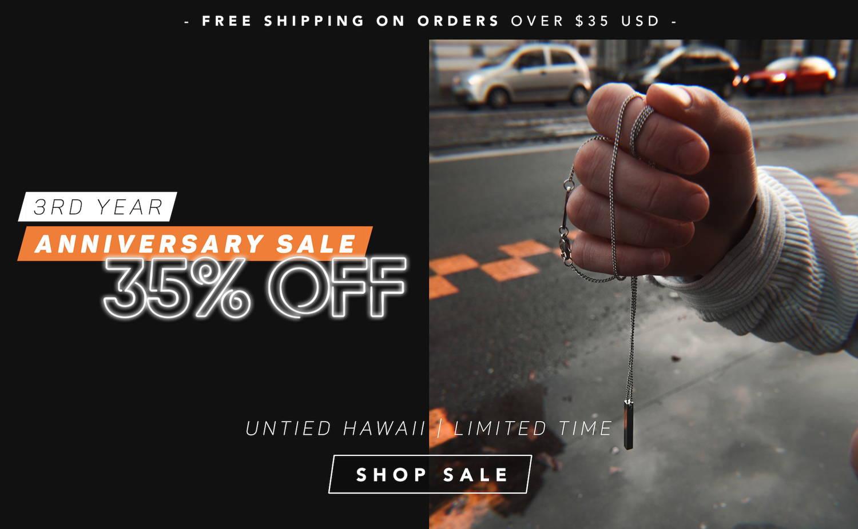 Untied Hawaii 35% Off