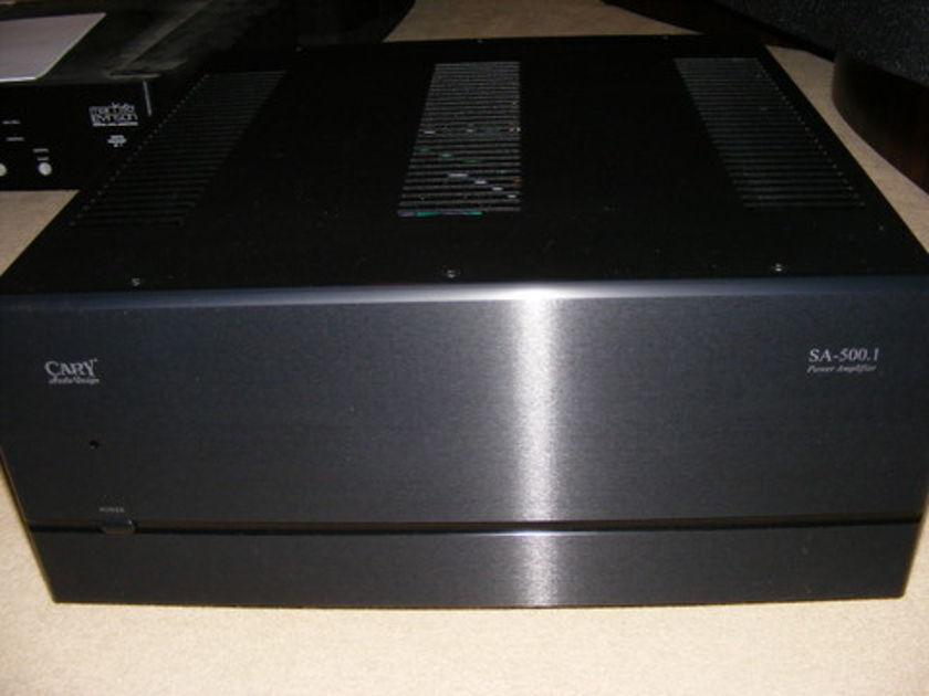 Cary Audio SA-500.1 Monoblocks Black, Like New