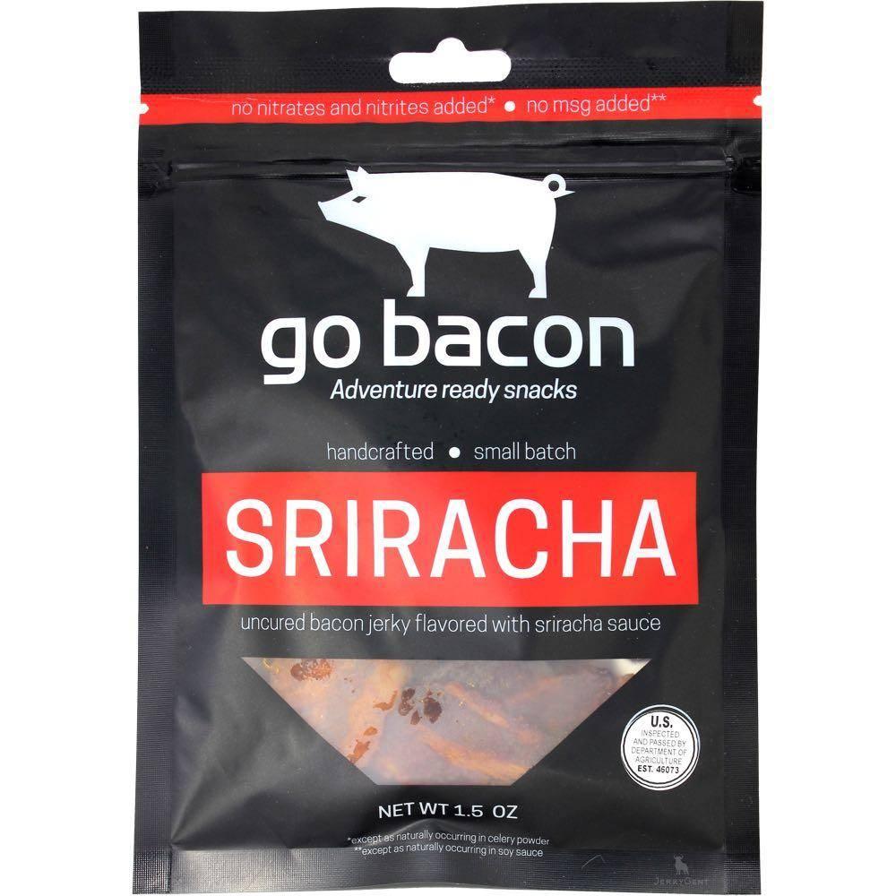 GoBacon Sriracha Bacon Jerky
