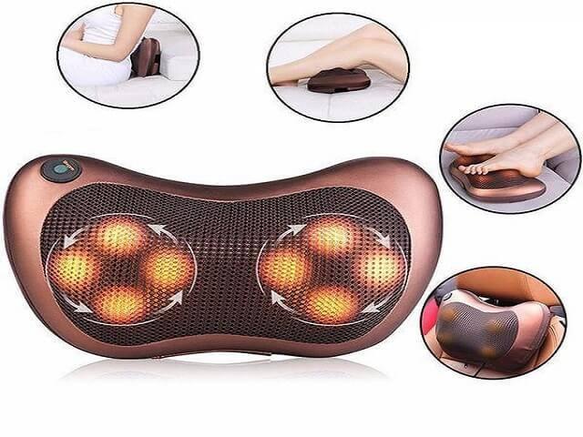 Coussin Massage Cou, Douleurs Cervicales, Masseur Cervical, Massage Douleurs Cervicales, Masseur Nuque Intelligent