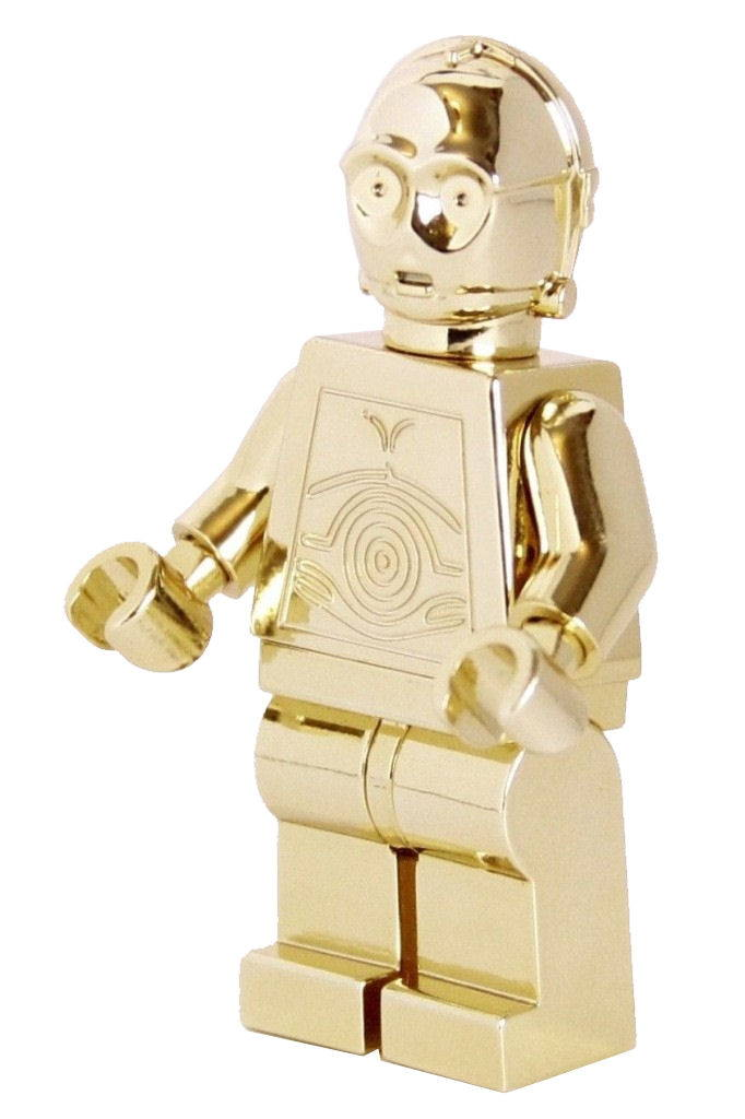 14-carat gold Minifigures
