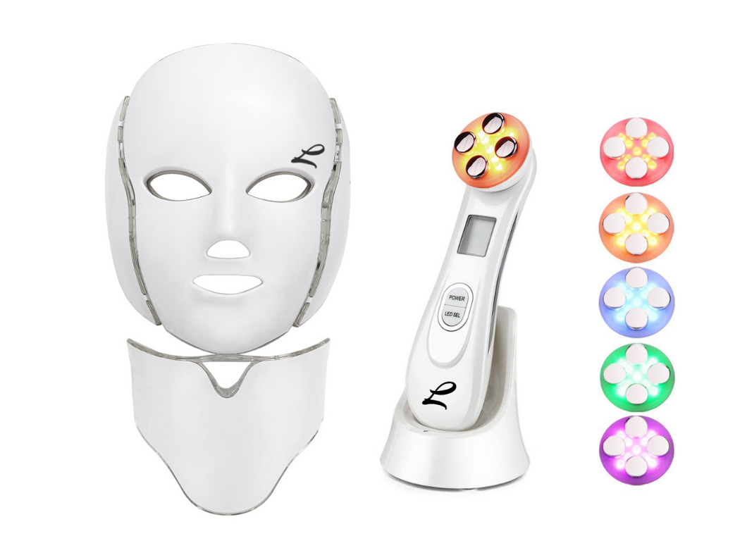 LED Face Mask, 5 in 1, 7 in 1, Light Therapy Treatment