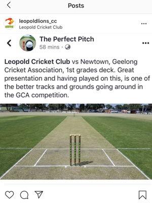 Leopold cricket club Logo