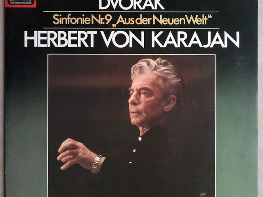 "EMI/Karajan/Dvorak  - Symphony No.9 "" From the New World"" / NM"