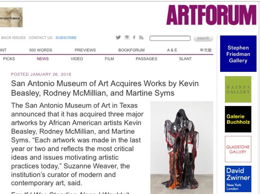 Ary Forum, Martine Syms