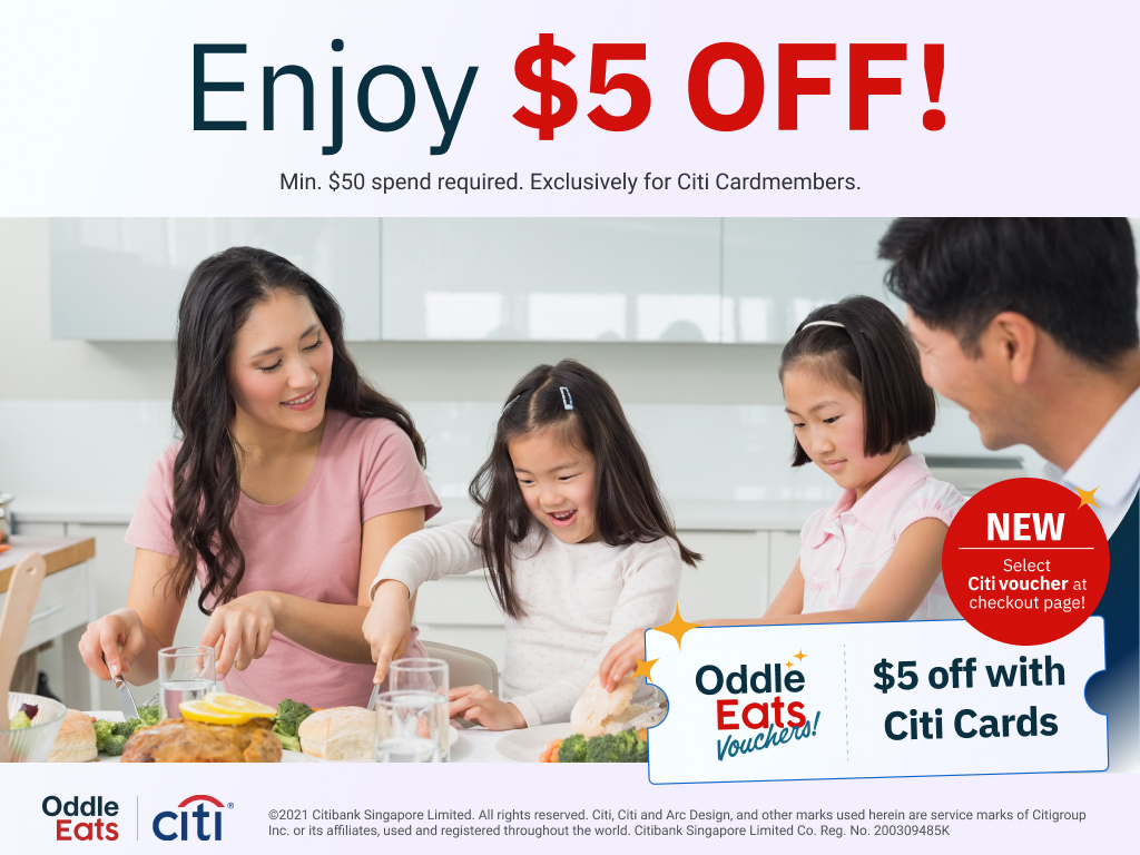 Pay with your Citi Card for $5 off!